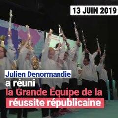 Julien Denormandie a réuni la Grande Equipe de la réussite républicaine