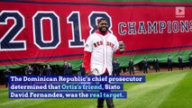 David Ortiz Was Not the Intended Target in Shooting