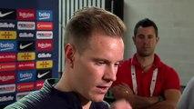 """Ter Stegen: """"Ronaldo marcó la diferencia en muchos partidos, pero será igual de difícil"""""""