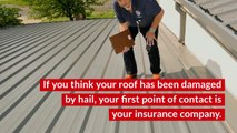 Frequently Asked Questions: Hail Damage Roof Repair