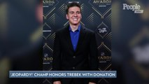 Jeopardy! Champ James Holzhauer Donates Portion of Winnings to Cancer Walk in Alex Trebek's Name