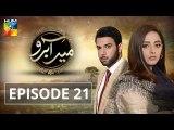 Meer Abru Episode 21 - HUM TV Drama 20 June 2019