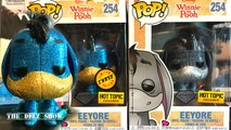 DISNEY EEYORE FUNKO POP DIAMOND HOT TOPIC COLLECTION CHASE COMMON DETAILED REVIEW