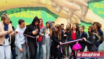 SUD-ISÈRE Des collégiens font le mur avec des graffeurs, et c'est de la bombe !