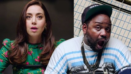 Aubrey Plaza and Brian Tyree Henry Take a Lie Detector Test