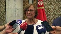 Avrupa Konseyi Genel Sekreter Yardımcısı Dragoni, Tunus'ta