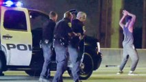 Police Chase Suspect Busts Dance Moves On Freeway before Arrest