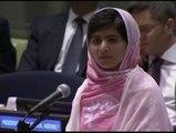 La activista pakistaní Malala Yusafzai recibe el Premio Nobel de la paz 2014
