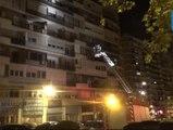 Heridas ocho personas en el incendio de una vivienda en Madrid