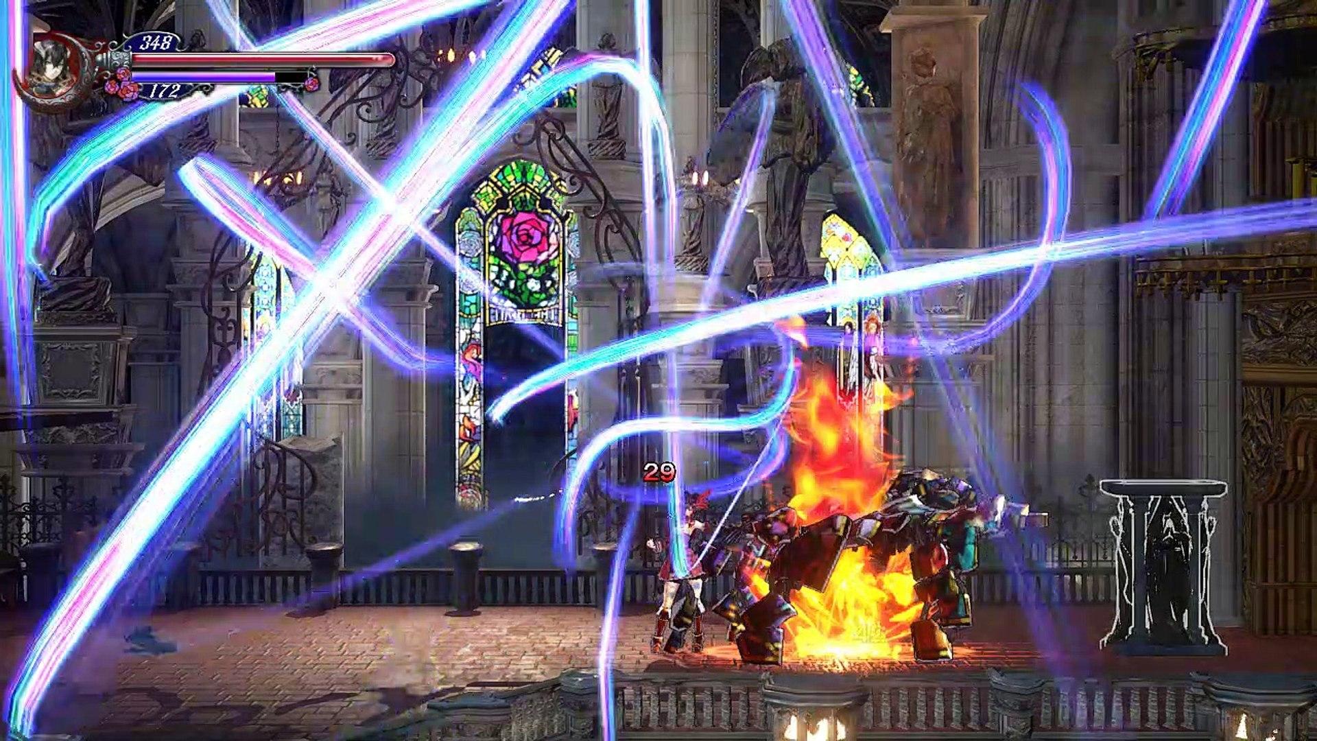 Bloodstained ROTN,Gameplay Español 4, Consiguiendo la mano de Vitralus para viajar en carro