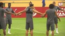 Unai Emery hace público su apoyo total a su futbolista Mesut Özil
