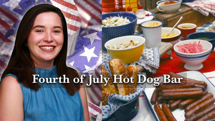 Hey Y'all - Fourth Of July Hot Dog Bar