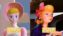 How Pixar's animation has evolved over 24 years, from 'Toy Story' to 'Toy Story 4'