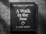 A Walk In the Sun Movie