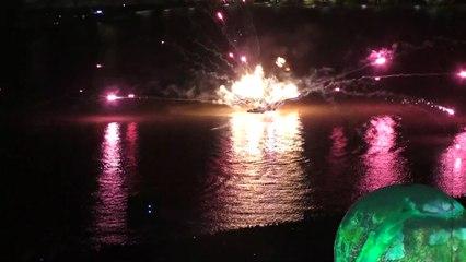 Le feu d'artifice de Bordeaux fête le fleuve 2019