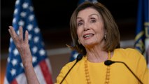 House Speaker Pelosi Calls For De-Escalation With Iran