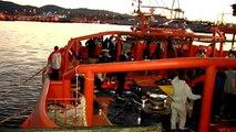 200 inmigrantes pasan la noche en un pabellón en Algeciras