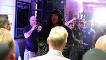 LETS GO CHAMP! - TYSON FURY RILES HIMSELF UP BEFORE MAKING SENSATIONAL RING WALK IN LAS VEGAS