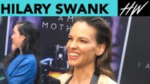 I Am Mother Star Hilary Swank Talks About Her Love For Her Dogs