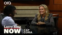 """We're a modern Brady Bunch"": Chef Cat Cora on raising six boys"