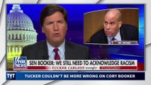Tucker Carlson Faceplants Against Cory Booker
