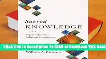 About For Books  Sacred Knowledge: Psychedelics and Religious Experiences  Review