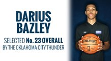 Thunder select Darius Bazley in 2019 NBA Draft