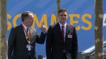 Llegada de Pedro Sánchez al Consejo del Altántico Norte