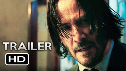 JOHN WICK 3 Official Trailer (2019) Keanu Reeves Action Movie HD