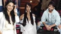 Kabir Singh: Shahid Kapoor & Kiara Advani arrives at special screening of the movie | FilmiBeat