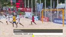 TH : Beach soccer : la passe de trois pour Tahiti