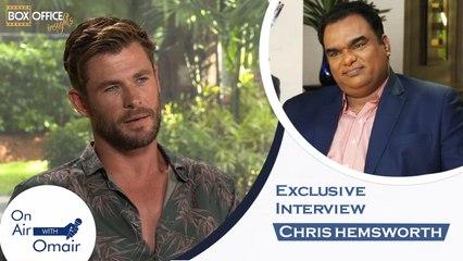 Chris Hemsworth Ft. Omair Alavi - On Air With Omair Men In Black Interview with Chris Hemsworth