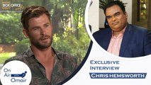 Chris Hemsworth Ft. Omair Alavi - On Air With Omair Men In Black Interview with Chris Hemsworth