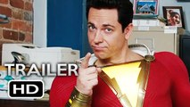 SHAZAM! Trailer 2 (2019) DC Superhero Movie HD