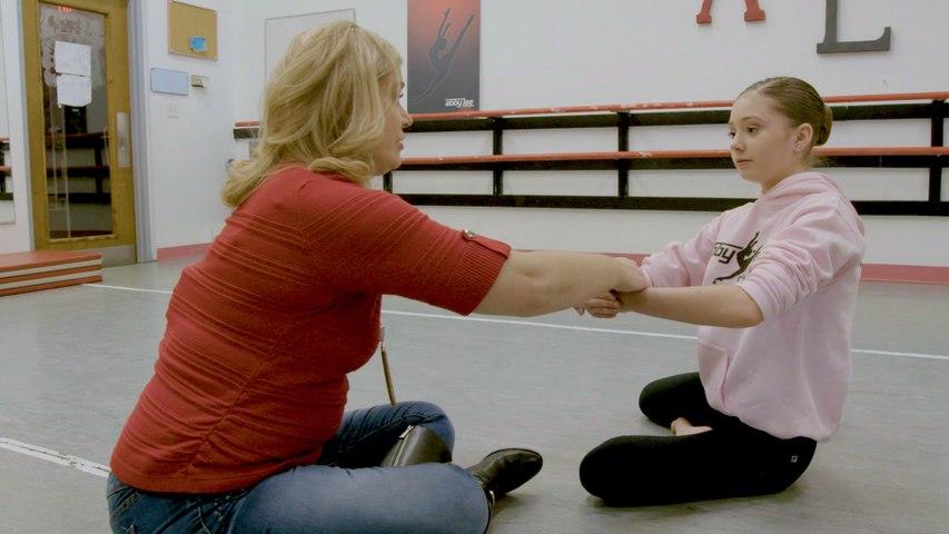 "Dance Moms: Behind the Scenes: Hannah Rehearses ""The Last Unicorn"""