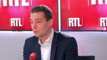 """Marine Le Pen et Marion Maréchal : """"Il n'y a pas de rivalité"""", assure Jordan Bardella"""