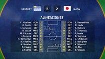 Resumen partido entre Uruguay y Japón Jornada 2 Copa América