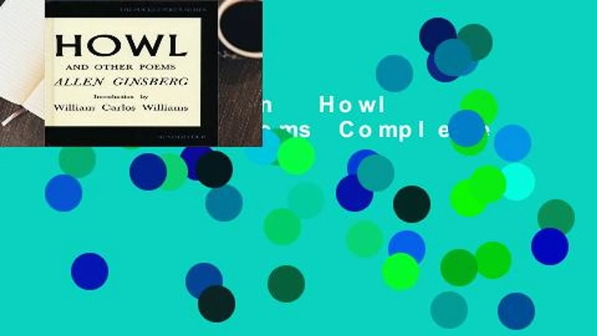 Full version  Howl and Other Poems Complete