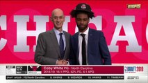 2019 NBA Draft - 7th Pick - Coby White - Chicago Bulls