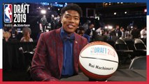 Rui Hachimura Makes History For Japan- - NBA Draft 2019
