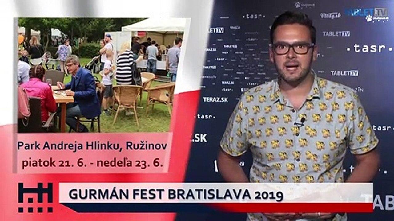 POĎ VON: Otvorenie kultúrneho leta v Novom meste a Gurmán Fest Bratislava