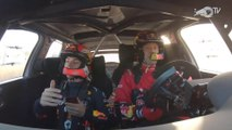 Pierre Gasly, copiloto de Sébastien Ogier en un WRC por un día