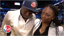 Zion Williamson gets emotional after New Orleans Pelicans select him No. 1 overall - 2019 NBA Draft