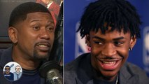 Jalen Rose loves that Ja Morant embraced his dad being his 'first hater' - Jalen - Jacoby