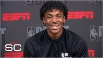 Ja Morant talks playing AAU ball with Zion, going at the top of the 2019 NBA draft - SportsCenter