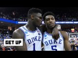 Zion has injury concerns, RJ Barrett is built for the next level - Jay Williams - Get Up