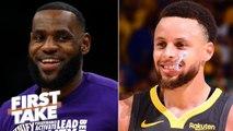 2020 MVP predictions: Stephen A. picks LeBron, Max Kellerman chooses Steph Curry - First Take