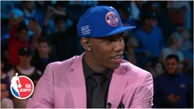 RJ Barrett 'overcome with emotions' after being drafted by New York Knicks - 2019 NBA Draft