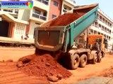 Réhabilitation de la route de Sogbé (Kankan) par GUITER