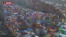 Bolivie : un quartier haut en couleur